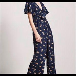 Forever 21 Other - Floral jumpsuit